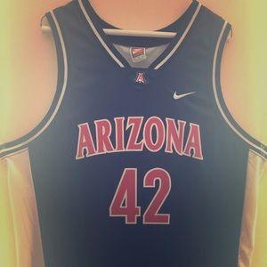 Arizona Wildcats Basketball Jersey #42